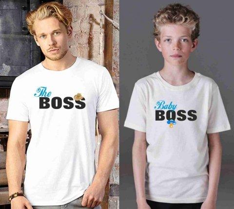 T shirt - Bianca - Boss - Gogolfun.it
