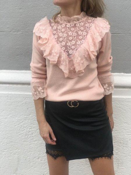 Pullover donna, particolare - Maglioncino donna, elegante - Gogolfun.it