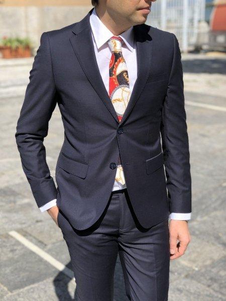 Paul Martins - Negozio di abbigliamento - Abito uomo blu - Gogolfun.it