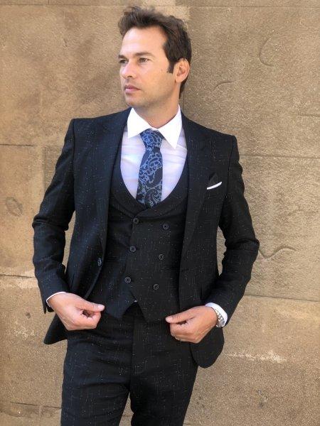 Vestito elegante nero - Cerimonia uomo - Gogolfun.it