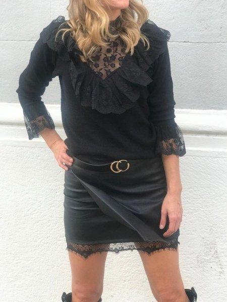 Pullover donna, nero