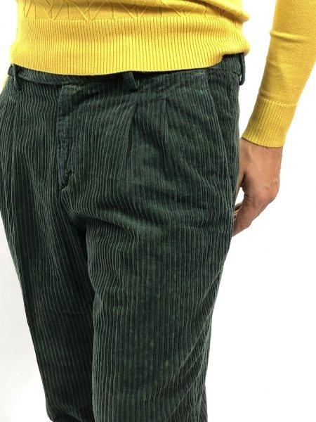 Spodnie męskie ,zielone - Model Chinos - Paul Miranda - Odzież męska - Ggolfun.pl