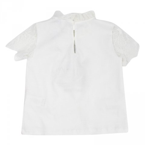 Maglietta bianca, bambina - Lanvin