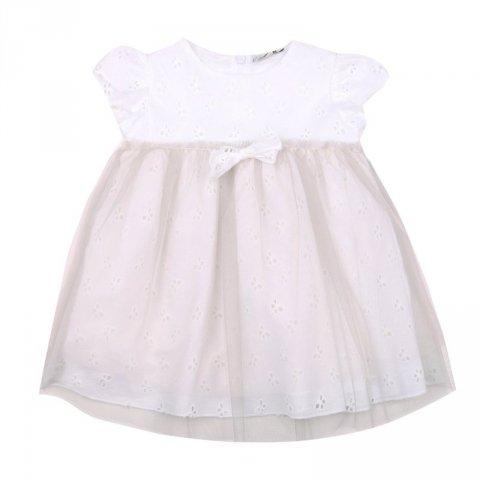 Kids Company - Abito bianco neonata - Abbigliamenot bambini online - Gogolfun.it