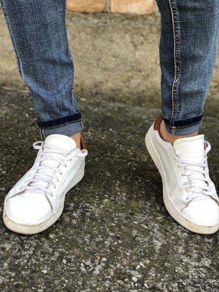 Jeans uomo, 5 tasche - Chiaro -  KeyJey - Jeans da uomo - Gogolfun.it