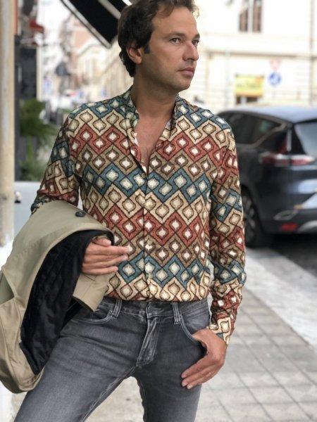 Camicie collo coreano - Gogolfun.it