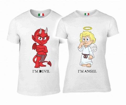 T shirt coppia - Divertenti - Gogolfun.it