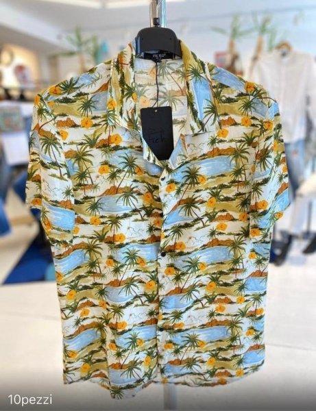 Camicie hawaiana, manica corta - Slim - Gogolfun.it