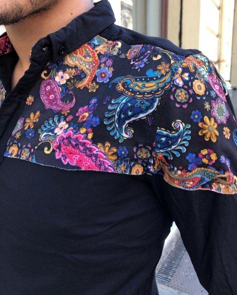 Camicia uomo - Camicie blu - Abbigliamento - Gogolfun.it