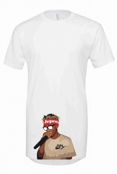 T shirt lunga - Rap - Gogolfun.it