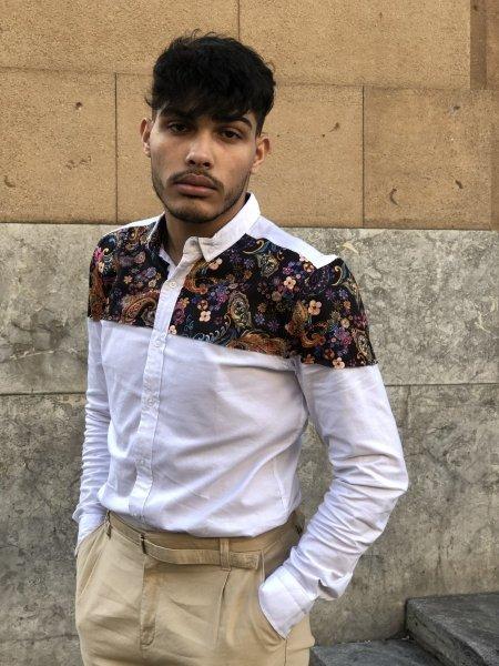 Camicia uomo - Camicia slim - Abbigliamento - Gogolfun.it