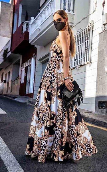 Vestito donna lungo sexy - Abbigliamento donna gogolfun.it