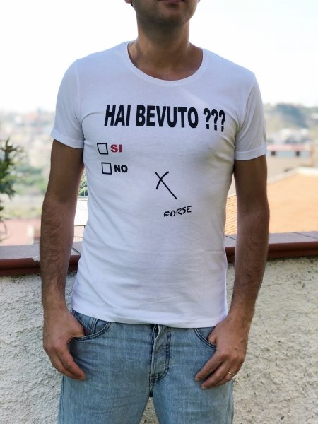 Tshirt - Ironica - Girocollo - Online Gogolfun.it