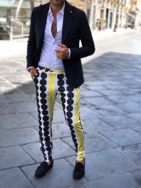 Pantaloni uomo particolari, slim