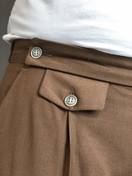 Paul Miranda - Pantaloni chino - Cammello - Made in Italy