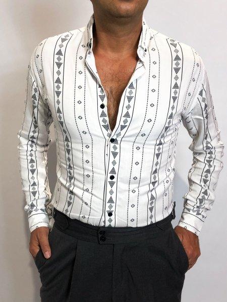 Camicia bianca, botton down - Gogolfun.it