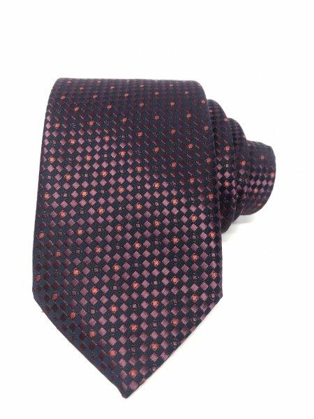 Krawat w kropki - Klasyczny niebieski krawat - Sklep Gogolfun.it