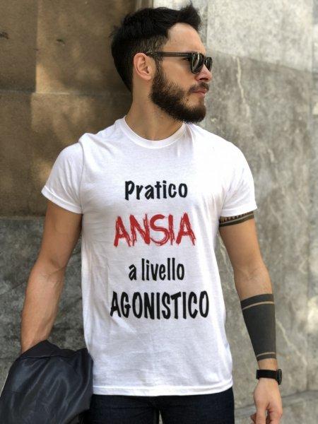 T shirt - Unisex - Maglietta Bianca - Gogolfun.it