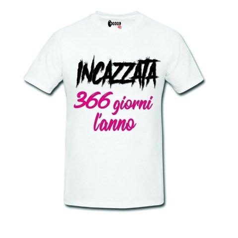 T shirt - Incazzata - Magliette divertenti - Abbigliamento Gogolfun.it
