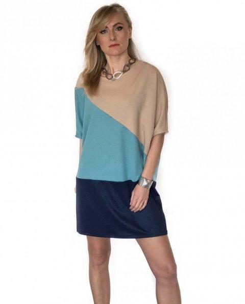 Vestito corto - Multicolor - Over - Gogolfun.it