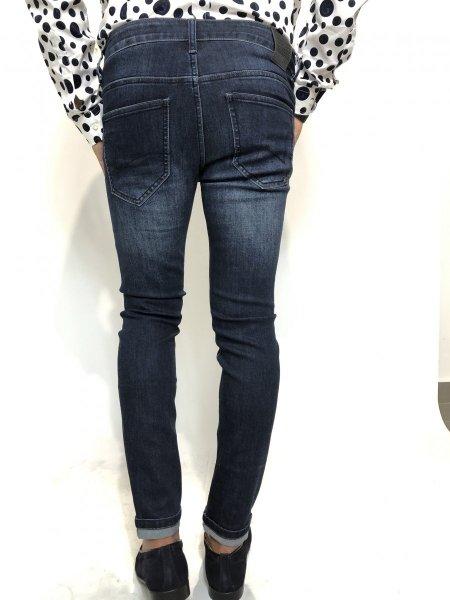 Jeans uomo, cinque tasche - Key Jey - Jeans skinny Gogolfun.it