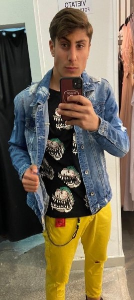 Giubbotto di jeans - Uomo - Unisex - Shopon line Gogolfun.it