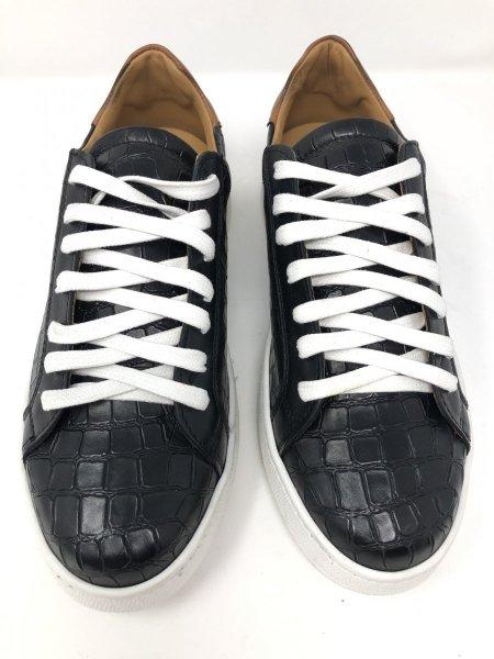 Sneakers nere - Vera pelle martellata - Scarpe gogolfun.it