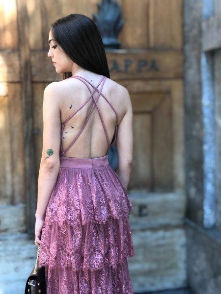 Abito - Femminile - Rosa Antico - Gogolfun.it
