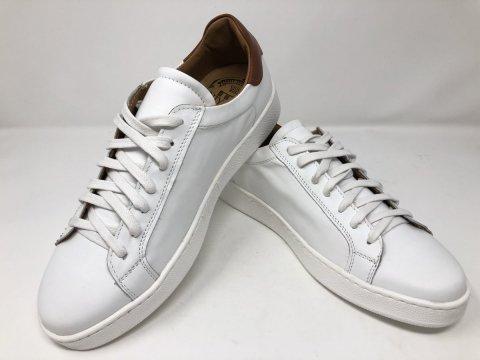 Sneakers uomo - Sneakers uomo bianche con lacci - Scarpe gogolfun.it