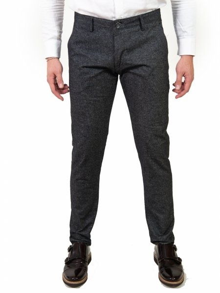 Pantaloni uomo eleganti - Key Jey - Slim Fit - Gogolfun.it