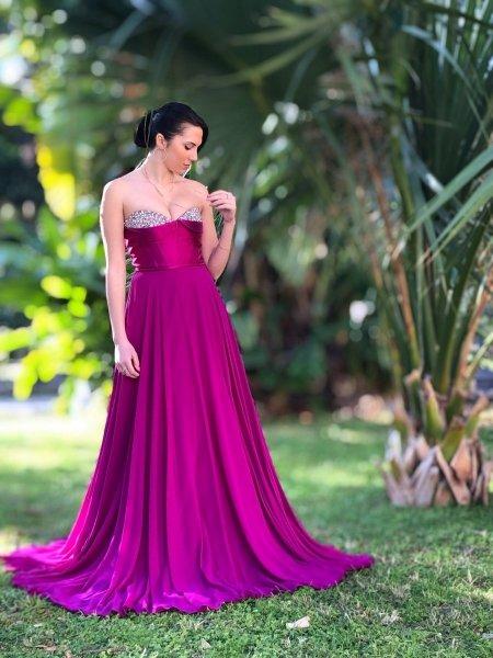 Vestito lungo elegante - Negozi abbigliamento Reggio Calabria - Gogolfun.it