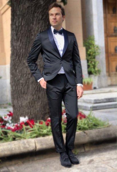 Smoking uomo - Vestiti cerimonia uomo  - Negozio abbigliamento Reggio Calabria - Gogolfun.it