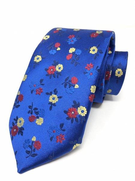 Cravatte uomo - Blu elettrico - Gogolfun.it