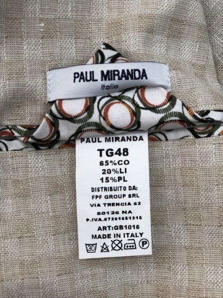 Paul Miranda - Blazer, made in Italy - Misto lino - Gogolfun.it