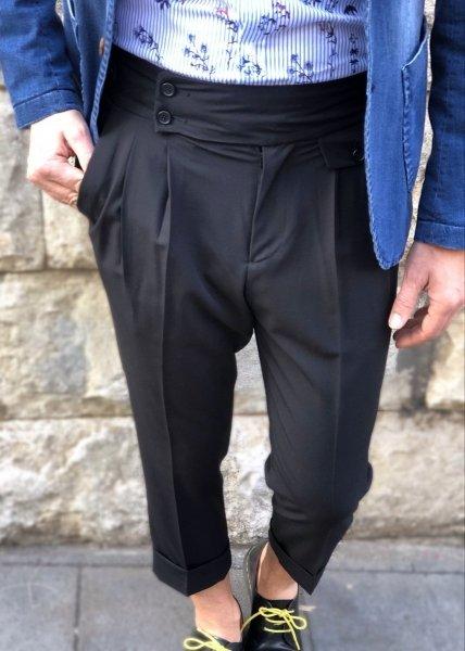 Paul Miranda - Pantaloni uomo - Neri