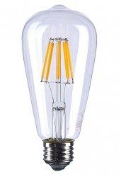Żarówka dekoracyjna LED Edison Retro 6W e27 Ciepła
