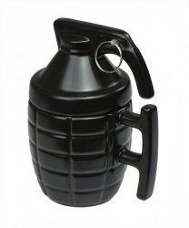 Kubek dekoracyjny granat z zawleczką