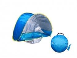 Namiot plażowy z basenem dla dziecka
