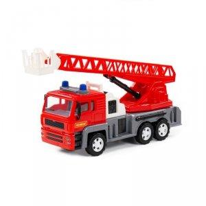 WADER 86723 Samochód wóz strażacki z dźwigiem