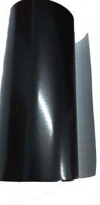 Folia rolka półpołysk czarna 1,52x30m