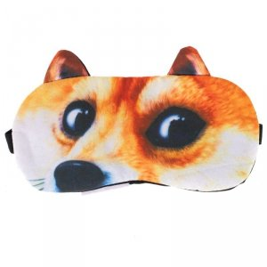Opaska na oczy maska do spania lis