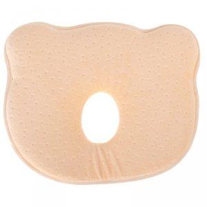 Poduszka korekcyjna dla niemowląt miś żółta