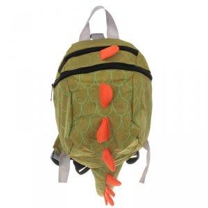 Plecak przedszkolaka smok wodoodporny zielony