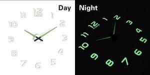Zegar ścienny fluorescencyjny 50-60cm 12 cyfr
