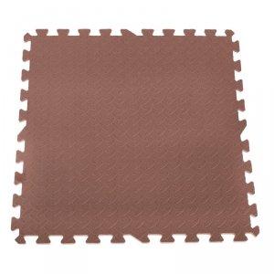 Puzzle piankowe mata dla dzieci brązowe 60x60 4szt