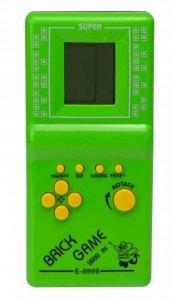 Gra Gierka Eletroniczna Tetris 9999in1 zielona