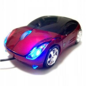 Mysz myszka komputerowa auto samochodzik