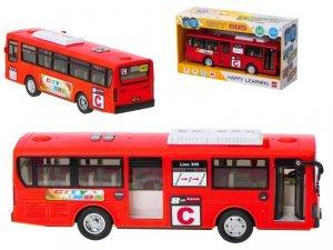 Autobus Szkolny Gimbus 1:20 czerwony