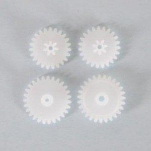 Część S107G: Zębatki S107G-09 4 elementy: 2małe +