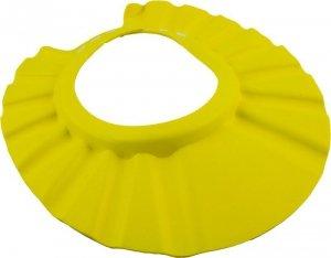 Czepek rondo ochronne do kąpieli niemowląt żółty